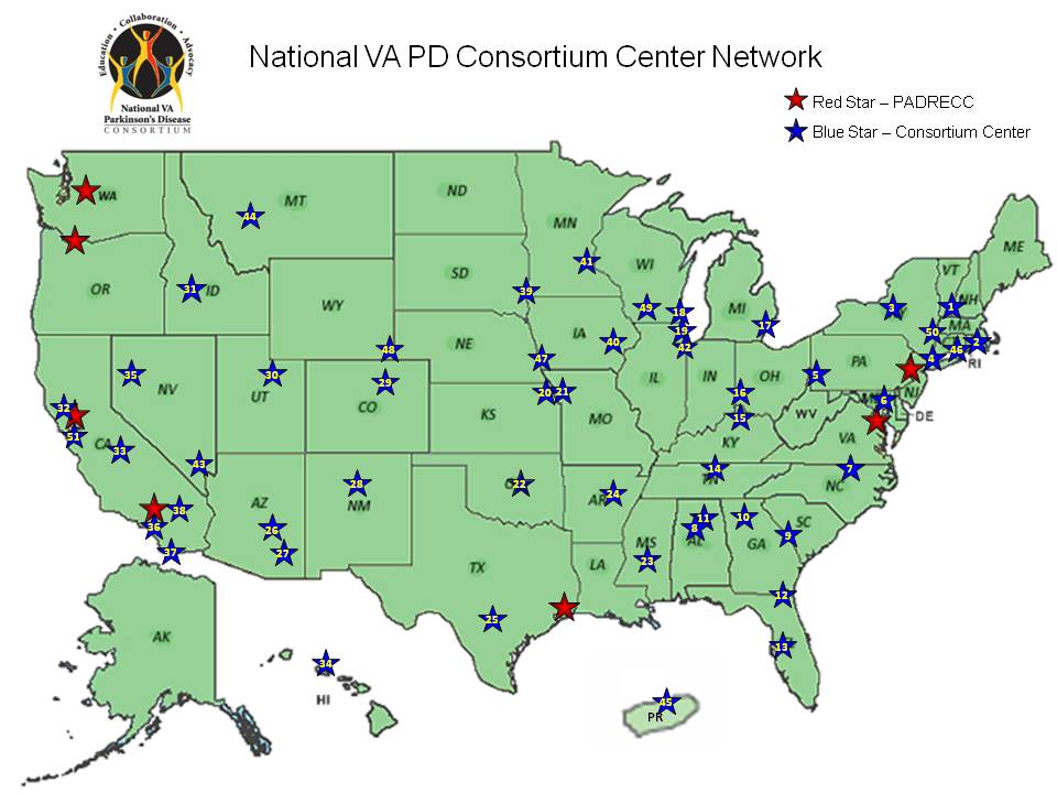 National VA PD Consortium Center Network
